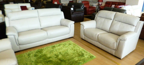 Chippenham 3 Seater + 2 Seater In New Club Silver Grey £2,149