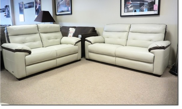 Le Mans 3 seater and 2 seater with taupe trim £2299
