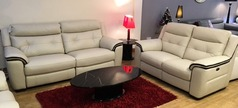Miami 3 Seater + 2 Seater Electric Recliner Sofas £2,999 - Click for more details