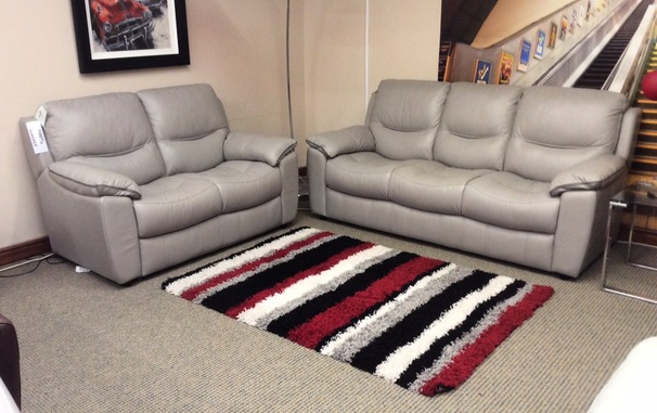 Lille 3 seater and 2 seater feather grey £1849