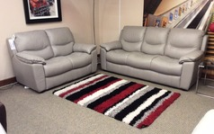 Lille 3 seater and 2 seater feather grey £1849 - Click for more details