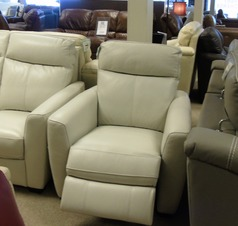 Rochelle electric recliner chair frost £599 (CARDIFF)  - Click for more details