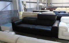 Matera 3 seater black £899 (CLEARANCE OUTLET) - Click for more details