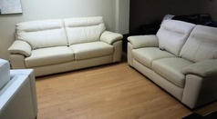 Trento 3 seater and 2 seater mid beige £1699  - Click for more details