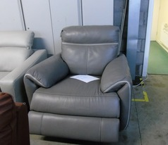 Oxford electric recliner chair dark grey 499 (CLEARANCE OUTLET) - Click for more details