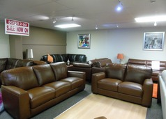 PORTO 3 seater and 2 seater vintage brown £1599 (SUPERSTORE) - Click for more details
