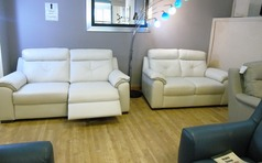 Siena 3 seater electric recliner 3 seater and 2 seater  £2199 (SWANSEA)  - Click for more details