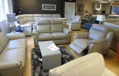 Cotswold 3 seater, 2 seater and electric recliner chair grey (SUPERTSORE) £3099 - Click for more details