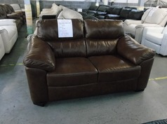Pescaro 2 seater mid brown £599 (SUPERSTORE) - Click for more details