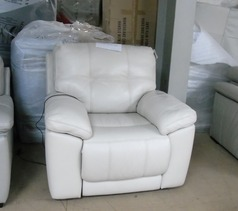 Modena electric recliner chair cream £499 (CLEARANCE OUTLET) - Click for more details