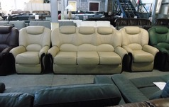 Garda 3 seater and 2  chairs cream £1499 (NEWPORT) - Click for more details