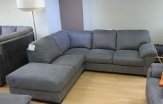 Baresi fabric corner in elephant grey £999 (SUPERSTORE) - Click for more details