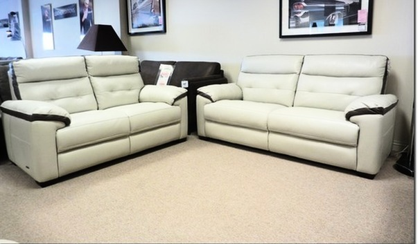 Le Mans 3 seater and 2 seater stone with taupe trim £2099 ( CARDIFF)