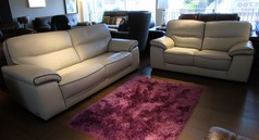 Napa 3 seater and 2 seater- stone with dark piping £2199 (SUPERSTORE) - Click for more details