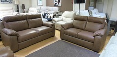 Latina 3 seater and 2 seater sand hide £1799 (SUPERSTORE) - Click for more details