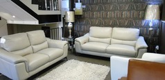Dijon 3 seater and 2 seater  stone grey £1799 (SUPERSTORE) - Click for more details