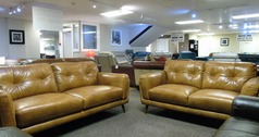 Cadiz 3 seater and 2 seater tan leather £1599 (SUPERSTORE) - Click for more details