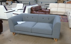 Peroda 2 seater grey £399 (SUPERSTORE) - Click for more details