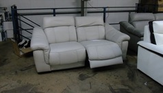 Lipari double electric recliner 2 seater stone £799 (SUPERSTORE) - Click for more details