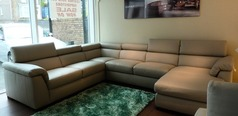 Belize large corner right hand facing chaise taupe grey £3499 (SUPERSTORE) - Click for more details