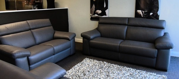 Pavia 3 seater and 2 seater grey £1899 (SUPERSTORE)