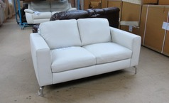 Arezzo 2 seater  in Winter white £499 (SUPERSTORE) - Click for more details