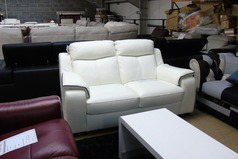 Reims 2 seater  white £399 (SUPERSTORE) - Click for more details