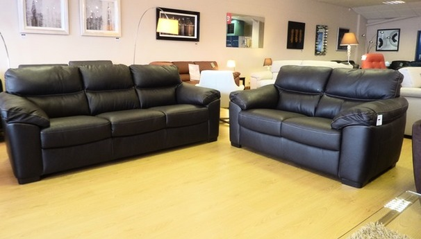 Pescaro 3 seater and 2 seater brown £1499 (SWANSEA)
