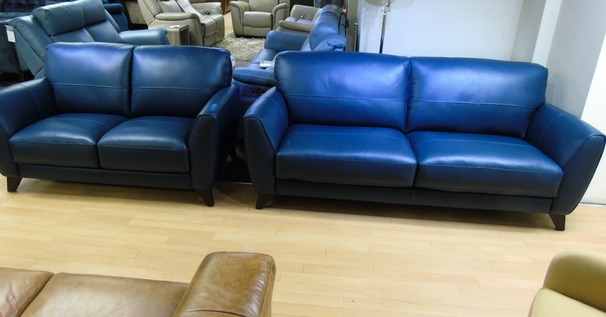 Cordoba 3 seater and 2 seater blue £1599 (SUPERSTORE)