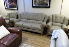 Royale 3 seateter and 2 chairs £1999 (SWANSEA) - Click for more details
