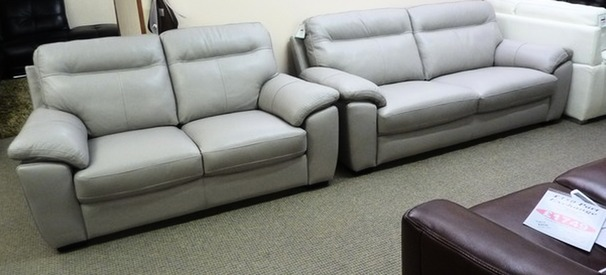 TRENTO  3 seater and 2 seater grey 1499 (SWANSEA)