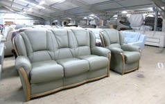 Gradi 3 seater and 2 chairs WILLOW hide £2399 (SUPERSTORE) - Click for more details