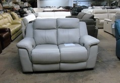 Rio Electric recliner 2 seater stone grey £699 (SUPERSTORE) - Click for more details