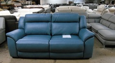 Caterina electrc recliner 3 seater blue £799 (SUPERSTORE)  - Click for more details