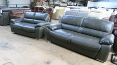 Gloria 3 seater and 2 seater grey £899 (SUPERSTORE) - Click for more details