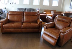 Cheltenham 3 seater and electric recliner chair £1499 (SWANSEA) - Click for more details
