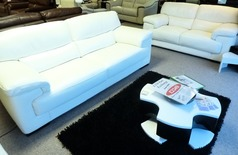Rosa 3 seater and 2 seater WINTER WHITE  £1999 (CARDIFF) - Click for more details