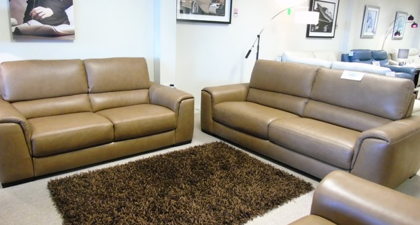 Imola 3 seater and 2 seater mustard £2799 (CARDIFF)