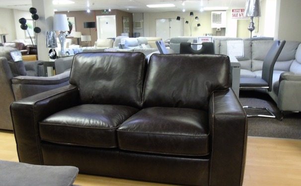 Milan 2 seater dark brown £599 (SUPERSTORE)
