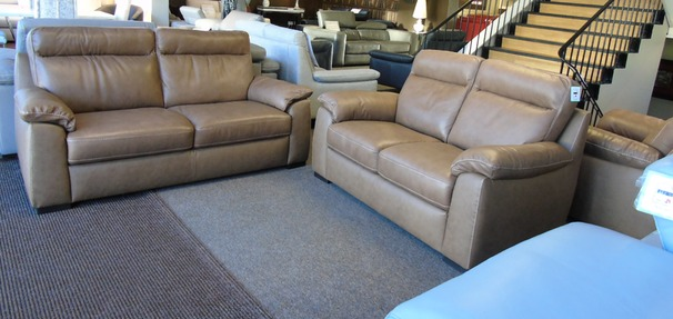 Latina 3 seater and 2 seater sand hide £1799 (NEWPORT)