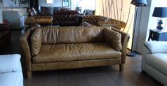 Milton 3 seater sofa vintage tan £999 (SUPERSTORE) - Click for more details
