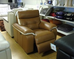 Lyon electric recliner chair in PECAN BROWN £499 (SUPERSTORE) - Click for more details