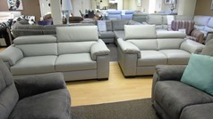 Potenza 3 seater and 2 seater  stone £1999  (SUPERSTORE) - Click for more details