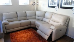 Tenby electric recliner corner suite £1999 (SWANSEA) - Click for more details