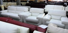 Elenor 3 seater  and 2 chairs Winter white £999 (SUPERSTORE) - Click for more details