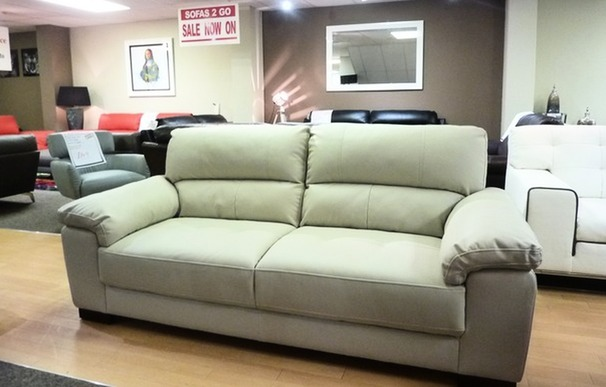 London 3 seater sofa cream £199 (SUPERSTORE)