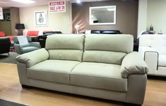 London 3 seater sofa cream £199 (SUPERSTORE) - Click for more details