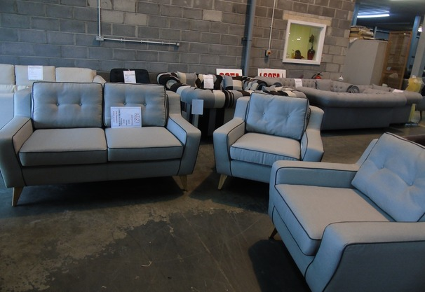Peroda 2 seater and 2 chairs £599  grey (SUPERSTORE)