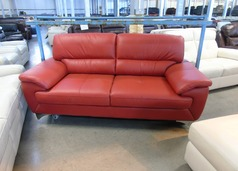 Barlow 3 seater red £299 (SUPERSTORE) - Click for more details