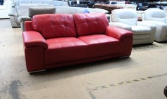 Monte Carlo 3 seater red £199 (SUPERSTORE) - Click for more details